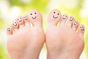 Calatonia and subtle touch help bring a happy mind and happy feet