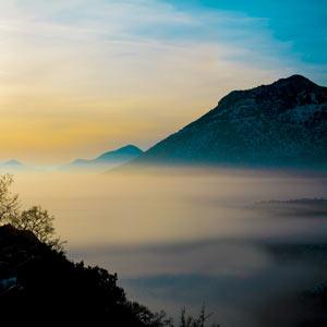 Mindfulness Mountainscape