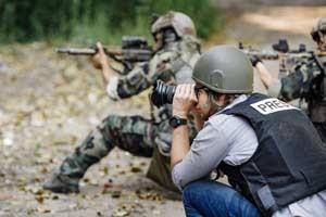PTSD Affects Combat Photographers Too