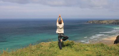 Yoga on the clifftops from psychology and wellbeing news