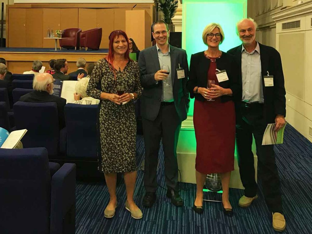 Dr Claudia Herbert at BMA Book Awards 2018