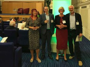 Dr Claudia Herbert at BMA Book Awards 2018