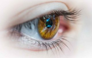 EMDR Treatment - Eye Close Up